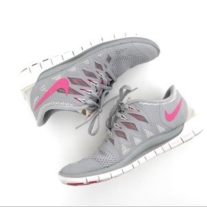 Nike Free Grey Running Shoes
